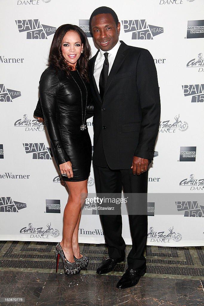 Cassandra Johnson and Avery Johnson attend BAM 30th Next Wave Gala at Skylight One Hanson on September 27 2012 in New York City