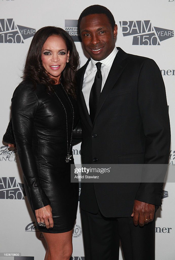 Cassandra Johnson and <a gi-track='captionPersonalityLinkClicked' href=/galleries/search?phrase=Avery+Johnson&family=editorial&specificpeople=201655 ng-click='$event.stopPropagation()'>Avery Johnson</a> attend BAM 30th Next Wave Gala at Skylight One Hanson on September 27, 2012 in New York City.