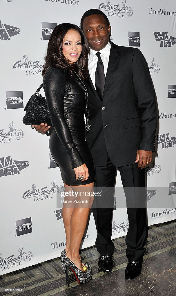 Cassandra Johnson and Avery Johnson attend the BAM 30th Next Wave Gala at the Brooklyn Academy of Music on September 27 2012 in the Brooklyn borough...