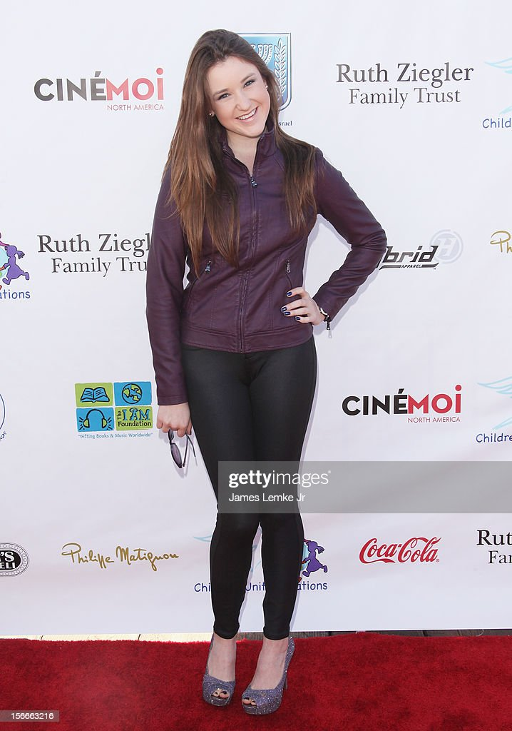 Cassandra Michaels attends the Children Uniting Nations' Day of The Child Fundraiser held at the Santa Monica Pier on November 18, 2012 in Santa Monica, California.