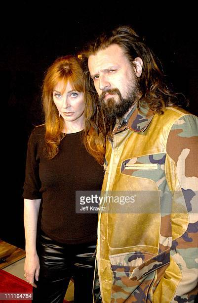 Cassandra Peterson and Rob Zombie during LionsGate Films' 'House of 1000 Corpses' Premiere at ArcLight Cinemas in Hollywood CA United States