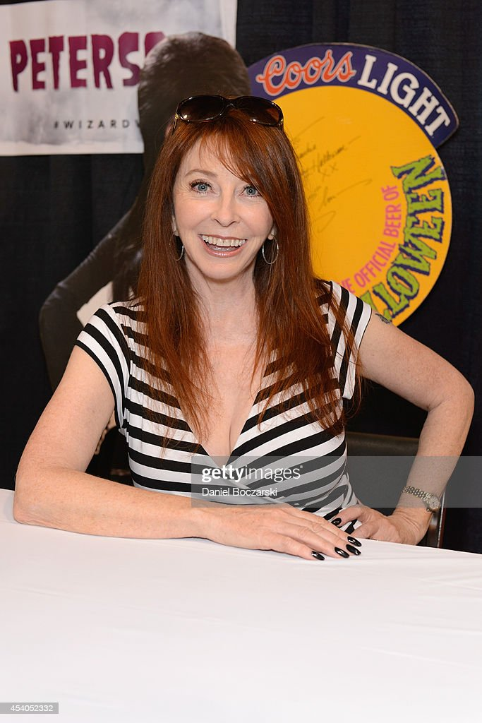 <a gi-track='captionPersonalityLinkClicked' href=/galleries/search?phrase=Cassandra+Peterson&family=editorial&specificpeople=225122 ng-click='$event.stopPropagation()'>Cassandra Peterson</a> attends Wizard World Chicago Comic Con 2014 at Donald E. Stephens Convention Center on August 23, 2014 in Chicago, Illinois.