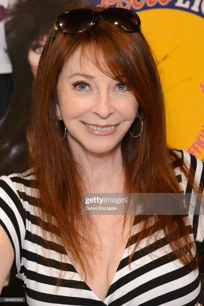 Cassandra Peterson attends Wizard World Chicago Comic Con 2014 at Donald E. Stephens Convention Center on August 23, 2014 in Chicago, Illinois.