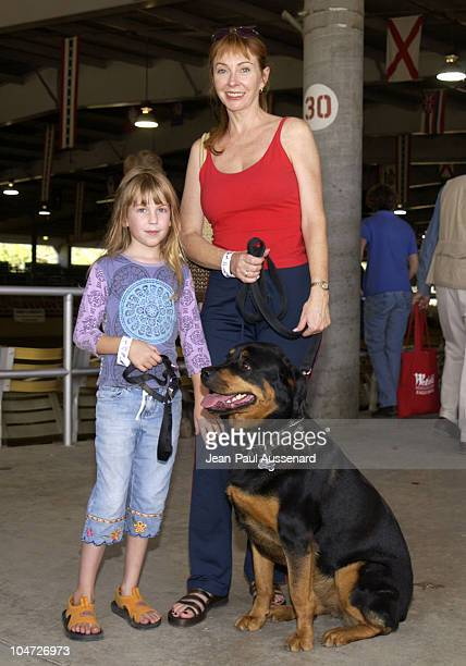 Cassandra Peterson daughter Sadie Mina during Festival of the Animals A pet fair to benefit Animal Rescue Organisations at The Equestrian Center in...