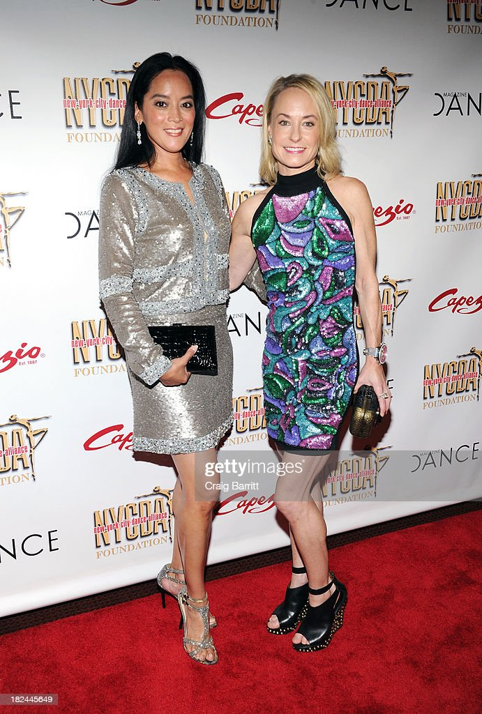 Cassandra Seidenfeld and Robin Cofer attend the 2013 NYC Dance Alliance Foundation Gala at the NYU Skirball Center on September 29, 2013 in New York City.