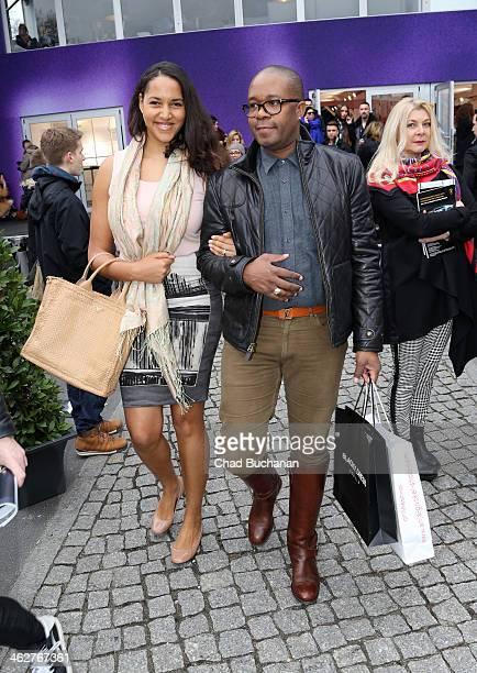 Cassandra Steen sighting during MercedesBenz Fashion Week Autumn/Winter 2014/15 at Brandenburg Gate on January 15 2014 in Berlin Germany