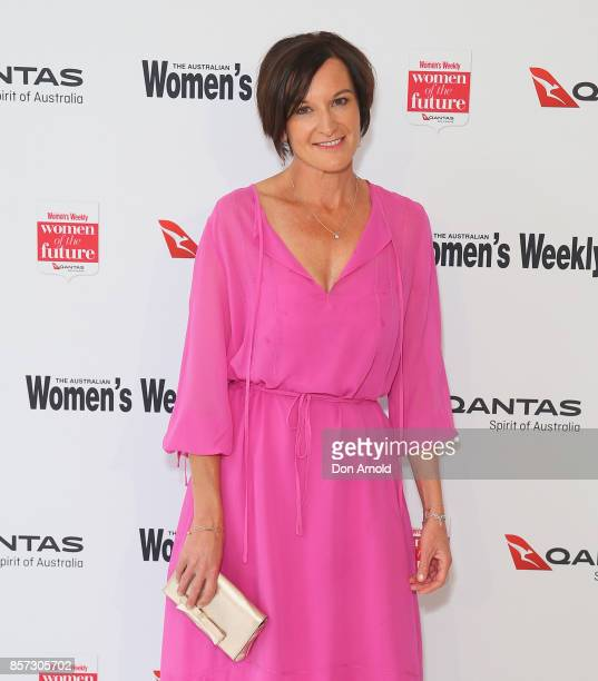 Cassandra Thorburn arrives ahead of the annual Women of the Future awards on October 4 2017 in Sydney Australia