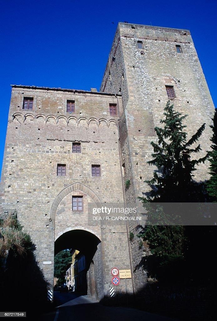Civitella Paganico Italy  city images : ... Senese fortress , Civitella Paganico, Tuscany. Italy, 14th century