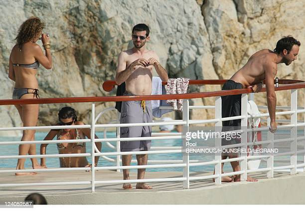 Cassey Affleck at Eden Roc In Cannes France On May 23 2007