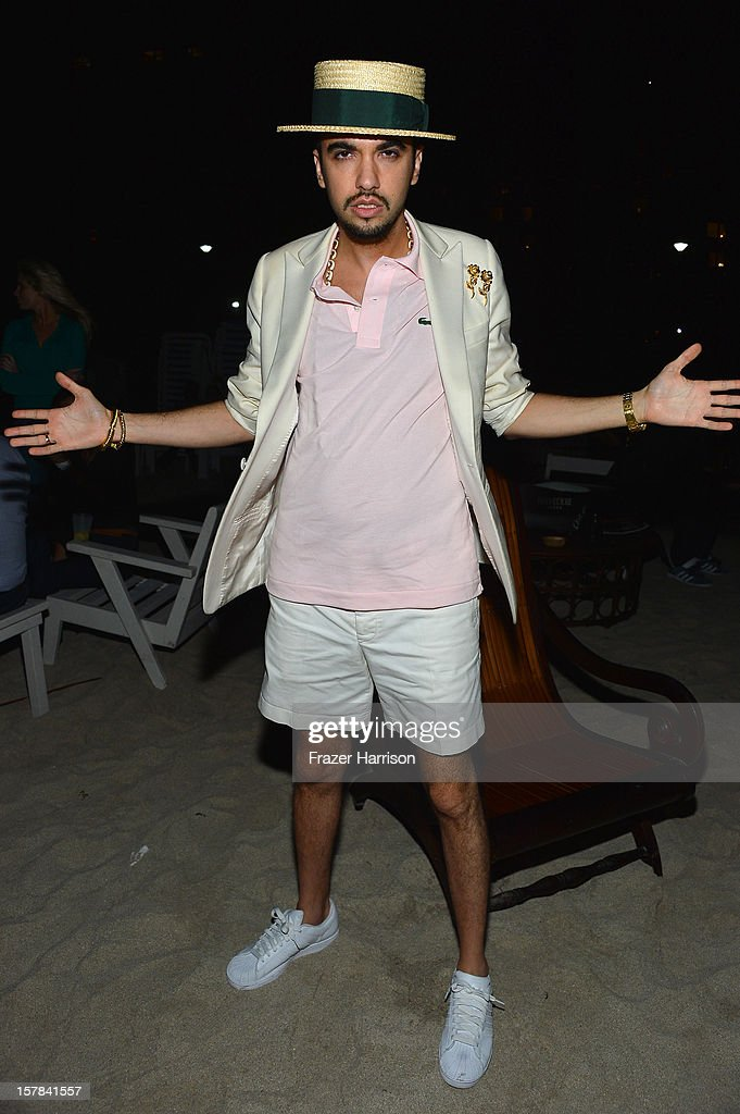 DJ Cassidy attends the amfAR Inspiration Miami Beach Party on December 6, 2012 in Miami Beach, United States.