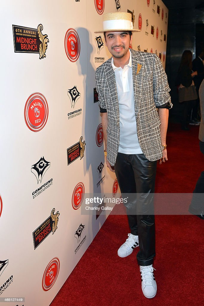DJ Cassidy attends the annual Midnight Grammy Brunch hosted by Ne-Yo and Malibu Red at Lure Nightclub on January 26, 2014 in Hollywood, California.