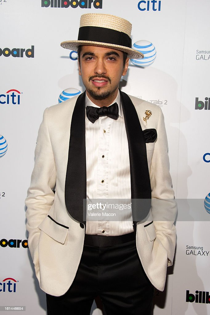 <a gi-track='captionPersonalityLinkClicked' href=/galleries/search?phrase=DJ+Cassidy&family=editorial&specificpeople=691457 ng-click='$event.stopPropagation()'>DJ Cassidy</a> attends The Billboard GRAMMY After Party at The London Hotel on February 10, 2013 in West Hollywood, California.