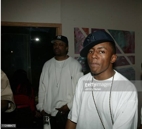 Cassidy during Cassidy 'I'm a Hustla' Listening Session at Monza Studio's in New York City New York United States