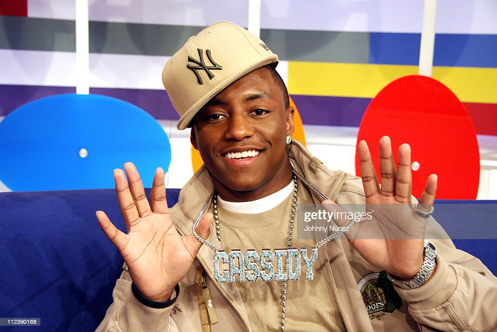 Cassidy during LL Cool J and Cassidy Visit BET's '106 and Park' April 12 2006 at 106 and Park in New York City New York United States