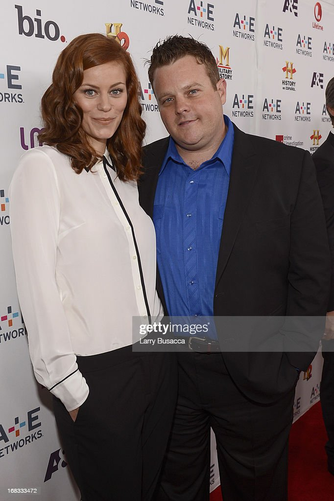 Cassidy Freeman and Adam Bartley of 'Longmire' attend the A+E Networks 2013 Upfront on May 8, 2013 in New York City.