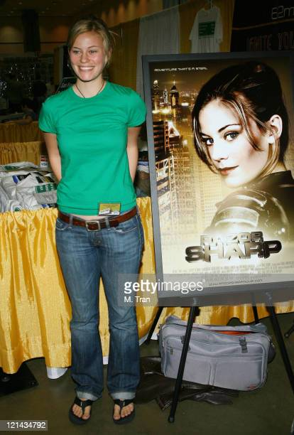 Cassidy Freeman during 2007 Wizard World Day 1 at Los Angeles Convention Center in Los Angeles California United States
