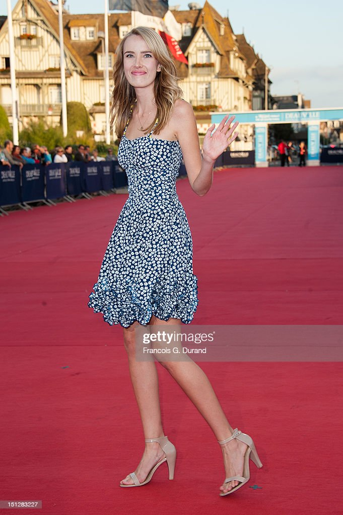Cassidy Gard arrives at the 'Lawless' Premiere during the 38th Deauville American Film Festival on September 5, 2012 in Deauville, France.