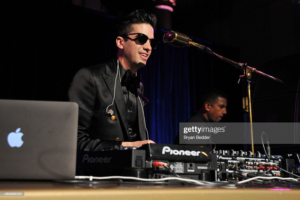 DJ Cassidy performs during Angel Ball 2015 hosted by Gabrielle's Angel Foundation at Cipriani Wall Street on October 19, 2015 in New York City.