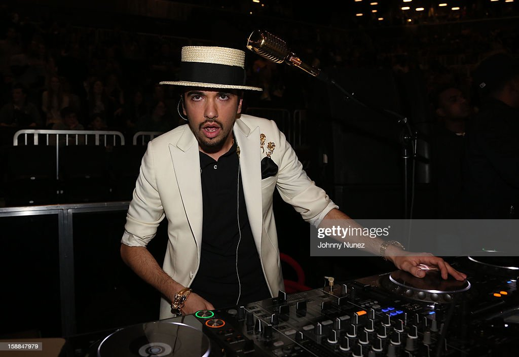 DJ Cassidy spins at Barclays Center on December 31, 2012 in the Brooklyn borough of New York City.