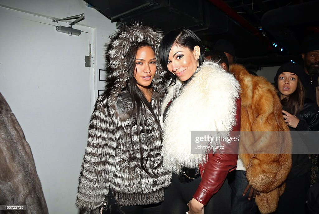 Cassie and Bridget Kelly attend Cam'ron's KillaBowl at WIP on February 2, 2014 in New York City.