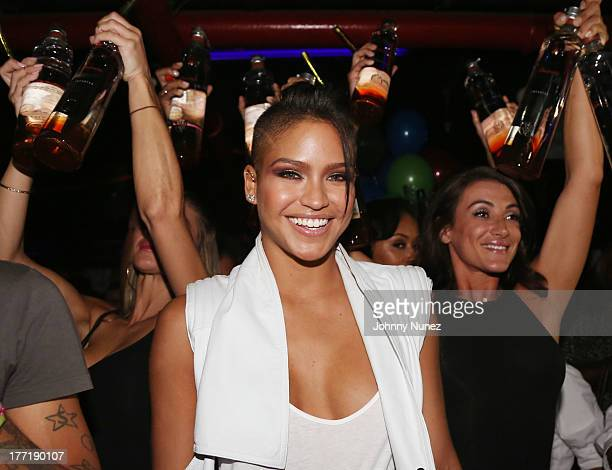 Cassie attends her Birthday Party at WIP on August 21 2013 in New York City