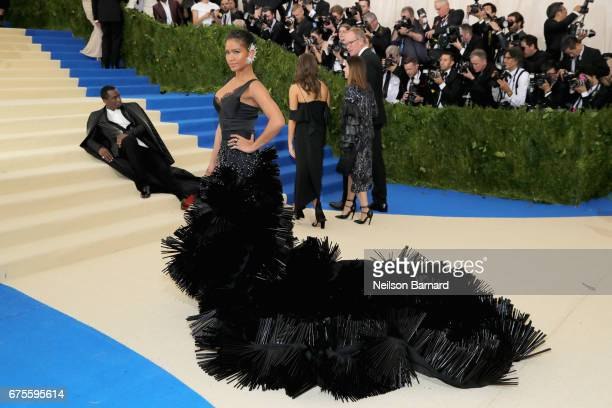 Cassie attends the 'Rei Kawakubo/Comme des Garcons Art Of The InBetween' Costume Institute Gala at Metropolitan Museum of Art on May 1 2017 in New...