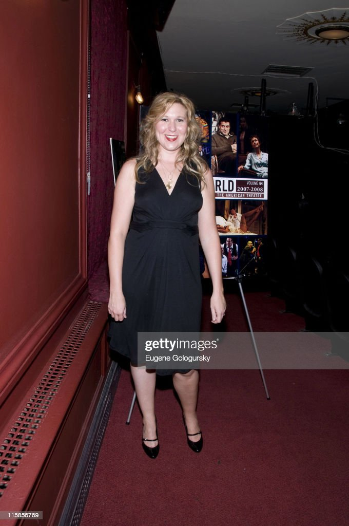 Cassie Beck attends the 64th Annual Theatre World Awards on June 10 2008 at the Helen Hayes Theatre in New York City