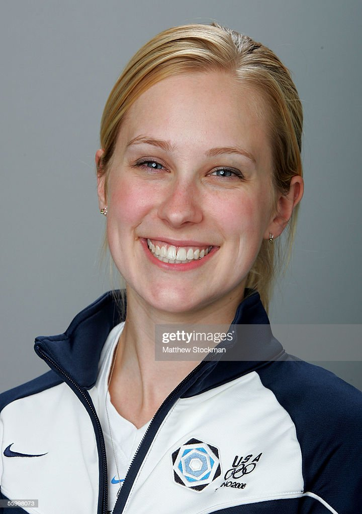 Cassie Johnson poses for a portrait during the USOC Olympic Media Summitt October 11 2005 at the Antlers Hilton hotel in Colorado Springs Colorado