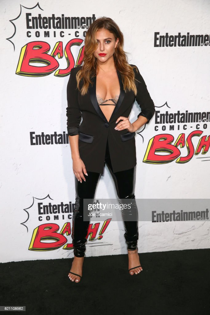 Cassie Scerbo at Entertainment Weekly's annual Comic-Con party in celebration of Comic-Con 2017 at Float at Hard Rock Hotel San Diego on July 22, 2017 in San Diego, California.