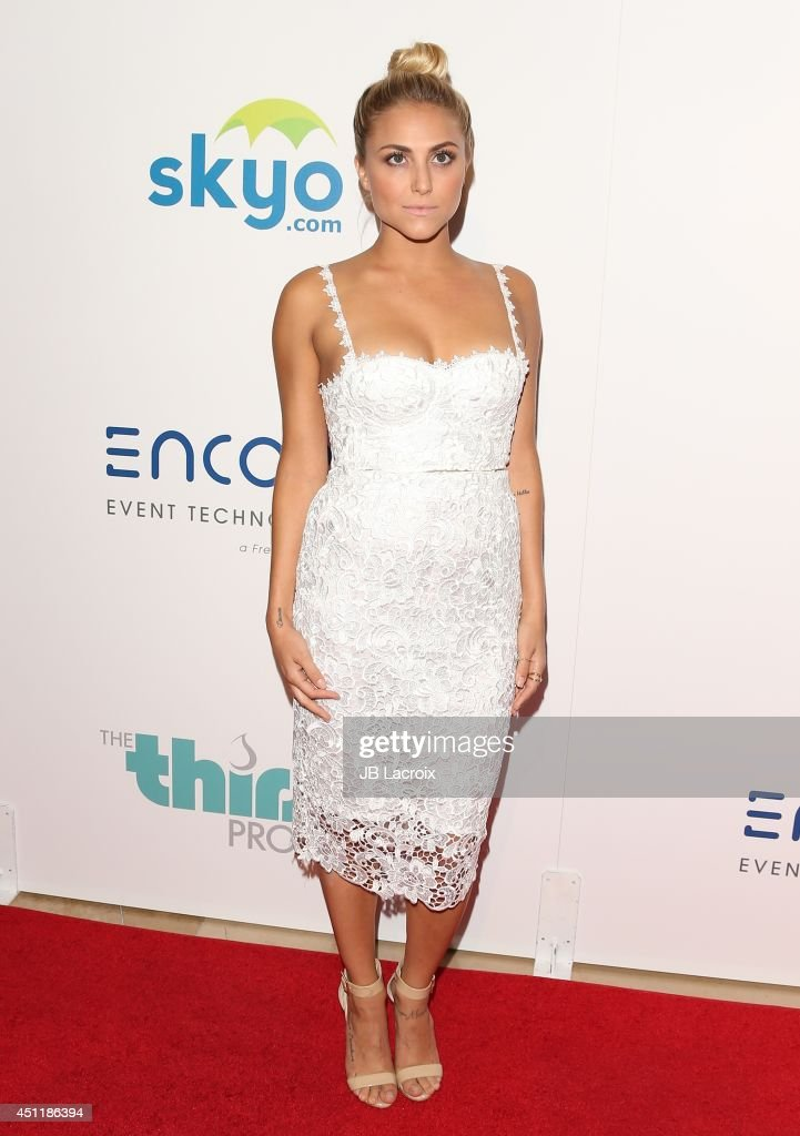 Cassie Scerbo attends the 5th Annual Thirst Gala hosted by Jennifer Garner in partnership with Skyo and Relativity's 'Earth To Echo' on June 24, 2014 at the in Los Angeles, California.