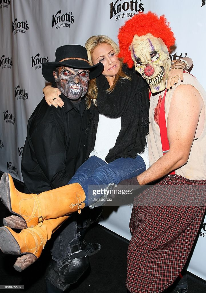 <a gi-track='captionPersonalityLinkClicked' href=/galleries/search?phrase=Cassie+Scerbo&family=editorial&specificpeople=4436795 ng-click='$event.stopPropagation()'>Cassie Scerbo</a> attends the Knott's Scary Farm 'Haunt' VIP Opening Night Party at Knott's Berry Farm on October 3, 2013 in Buena Park, California.