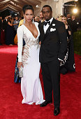 Cassie Ventura and Sean Combs attend the 'China Through The Looking Glass' Costume Institute Benefit Gala at the Metropolitan Museum of Art on May 4...