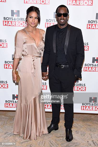 Cassie Ventura and Sean 'Diddy' Combs attend the Boys Girls Harbor Salute To Achievement at David H Koch Theater Lincoln Center on September 26 2016...