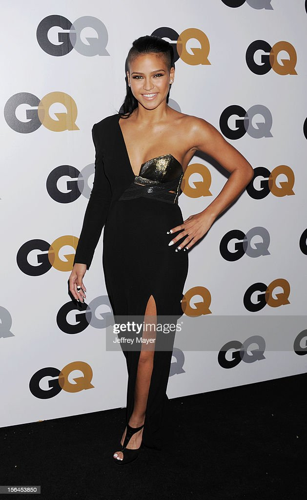 Cassie Ventura arrives at the GQ Men Of The Year Party at Chateau Marmont Hotel on November 13, 2012 in Los Angeles, California.