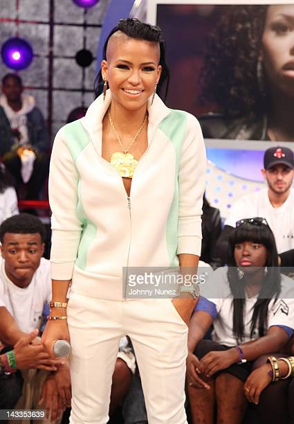 Cassie visits BET's '106 Park' at BET Studios on April 23 2012 in New York City