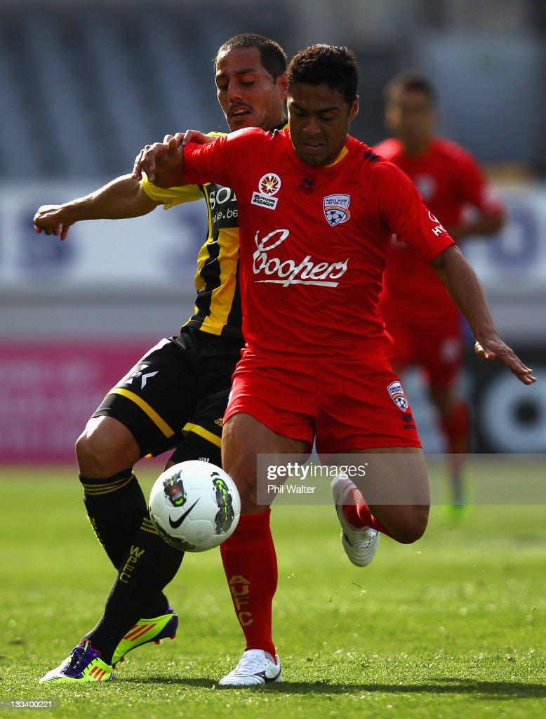 A-League Rd 7 - Wellington v Adelaide