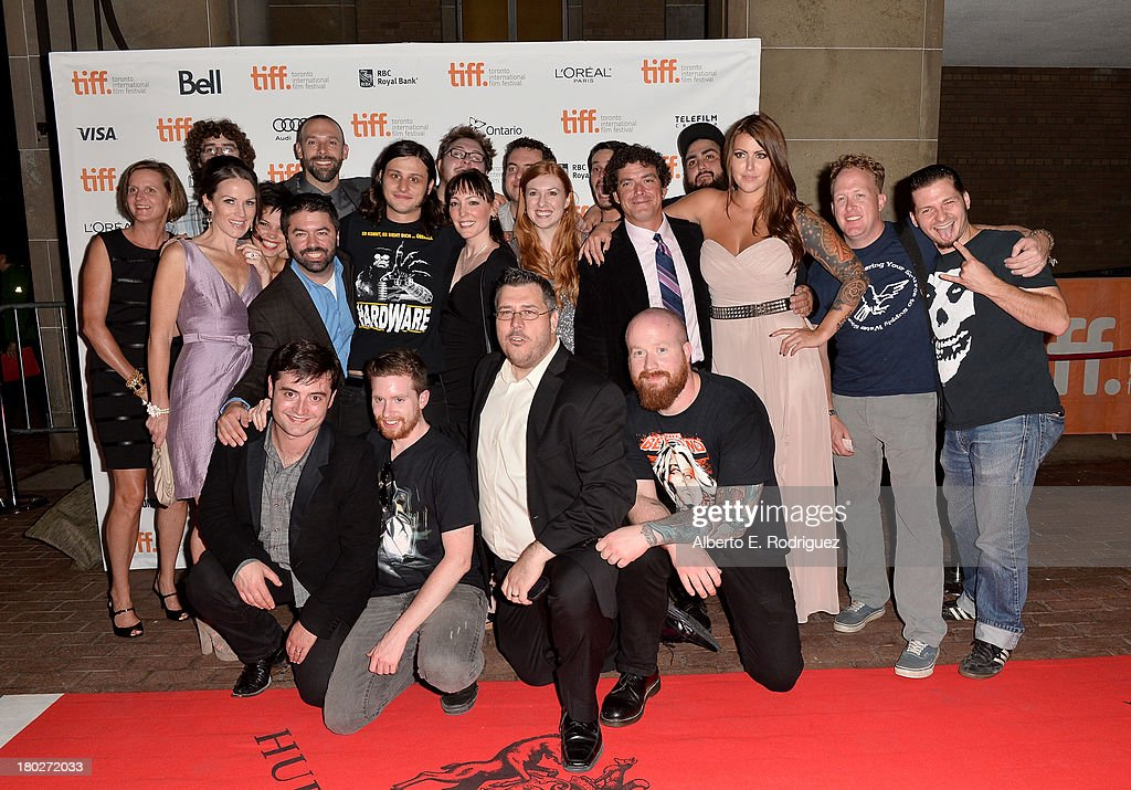 Cast and crew arrive at the 'Almost Human' Premiere during the 2013 Toronto International Film Festival at Ryerson Theatre on September 10, 2013 in Toronto, Canada.