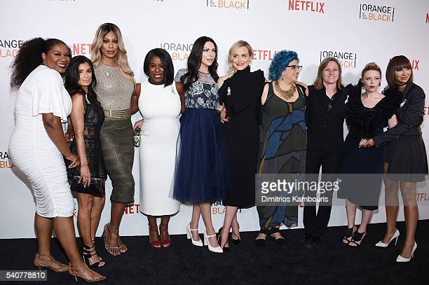 Cast and crew attend 'Orange Is The New Black' premiere at SVA Theater on June 16 2016 in New York City