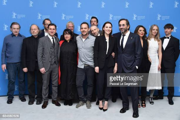 Cast and crew attend the 'Bye Bye Germany' photo call during the 67th Berlinale International Film Festival Berlin at Grand Hyatt Hotel on February...