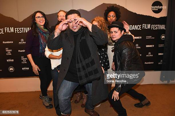 Cast and crew attend the 'Deidra Laney Rob A Train' Premiere at Egyptian Theatre on January 23 2017 in Park City Utah