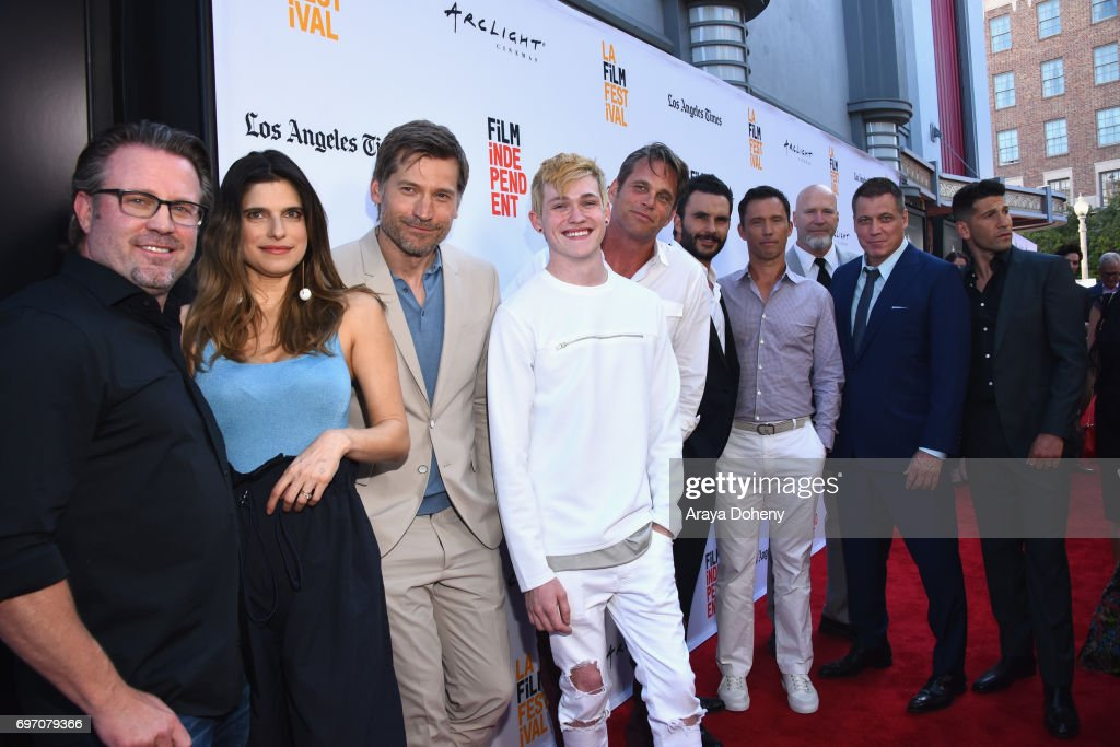 Cast and crew attend the 'Shot Caller' Premiere during the 2017 Los Angeles Film Festival at Arclight Cinemas Culver City on June 17, 2017 in Culver City, California.