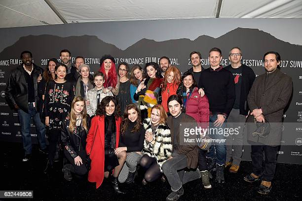 Cast and crew attend the 'XX' Premiere on day 4 of the 2017 Sundance Film Festival at Library Center Theater on January 22 2017 in Park City Utah