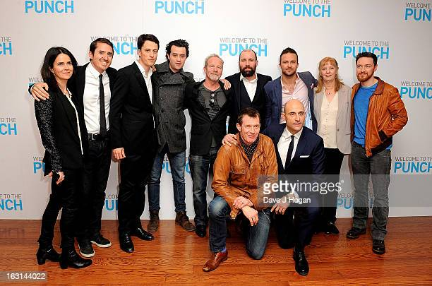 Cast and crew including Liza Marshall Danny Mays Peter Mullan Johnny Harris director Eran Creevy James McAvoy Jason Flemyng and Mark Strong attend...
