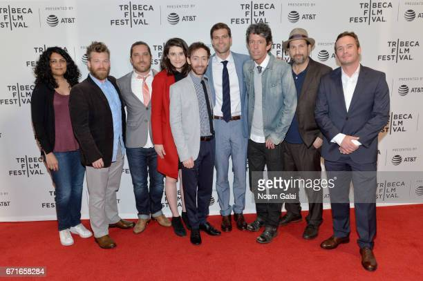 Cast and crew of 'A Thousand Junkies' attend the 'A Thousand Junkies' Premiere during 2017 Tribeca Film Festival at Cinepolis Chelsea on April 22...