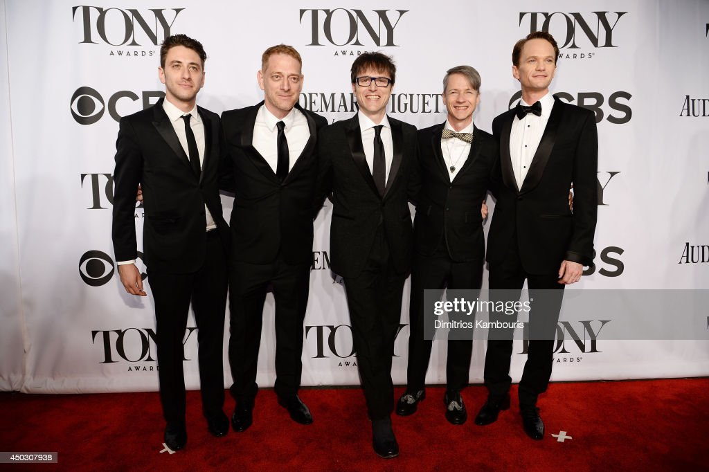 Cast and crew of 'Hedwig and the Angry Inch' attend the 68th Annual Tony Awards at Radio City Music Hall on June 8, 2014 in New York City.