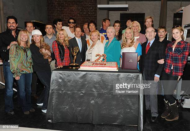 Bold And The Beautiful Cast Images Et Photos Getty Images