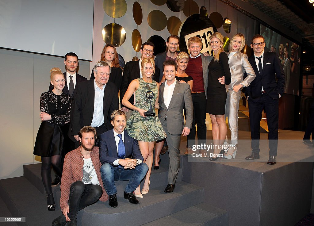 Cast and Crew of the TRIC Special award winner 'I'm A CelebrityGet Me Out Of Here' attend the TRIC Television and Radio Industries Club Awards at The...