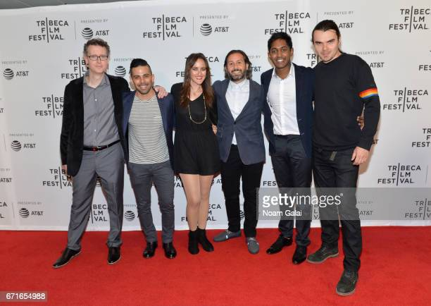 Cast and crew of 'Tilt' attends the 'Tilt' Premiere during 2017 Tribeca Film Festival at Cinepolis Chelsea on April 22 2017 in New York City