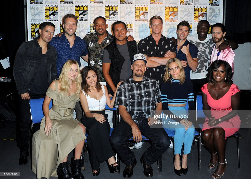 Cast and director of 'Suicide Squad' attend the Warner Bros. Presentation during Comic-Con International 2016 at San Diego Convention Center on July 23, 2016 in San Diego, California.