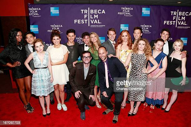 F cast attend the screening of 'GBF' during the 2013 Tribeca Film Festival at Chelsea Clearview Cinemas on April 19 2013 in New York City